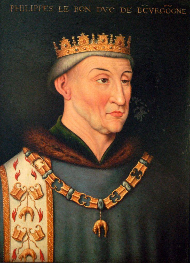 Philippe Le Bon était Duc et Comte de Bourgogne. (Bourgogne-Franche-Comté)
