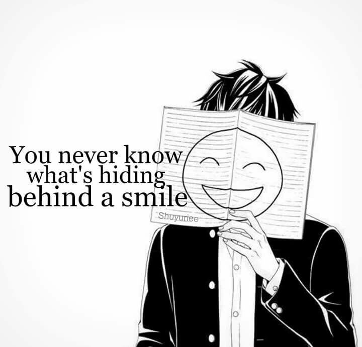 :D shit is going down | Behind a smile | Feelz❦