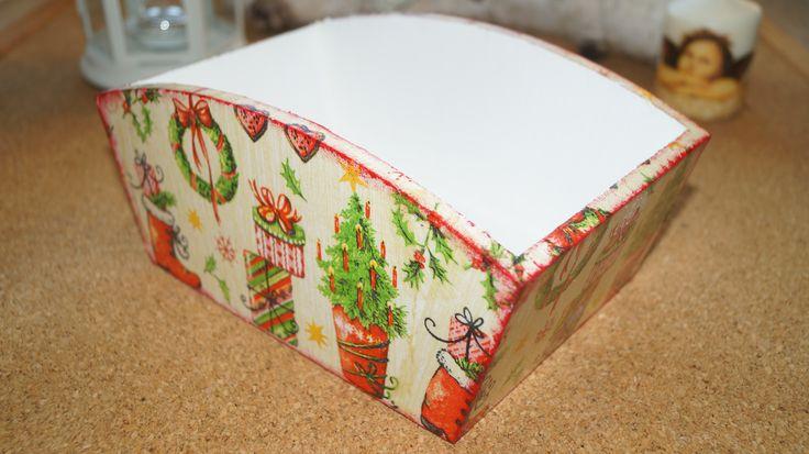 Świąteczny pojemnik na chleb, w sam raz na prezent! 35 zł z wysyłką