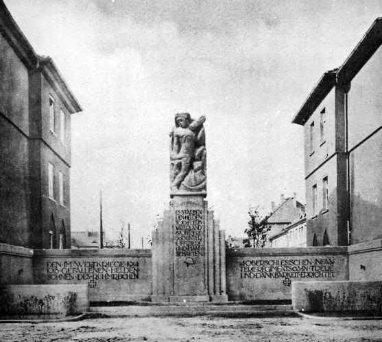 opole01.jpg (557×500) Poświęcony 63. (4. górnośląskiemu) pułkowi piechoty (4. Oberschlesisches Infanterie-Regiment Nr. 63).