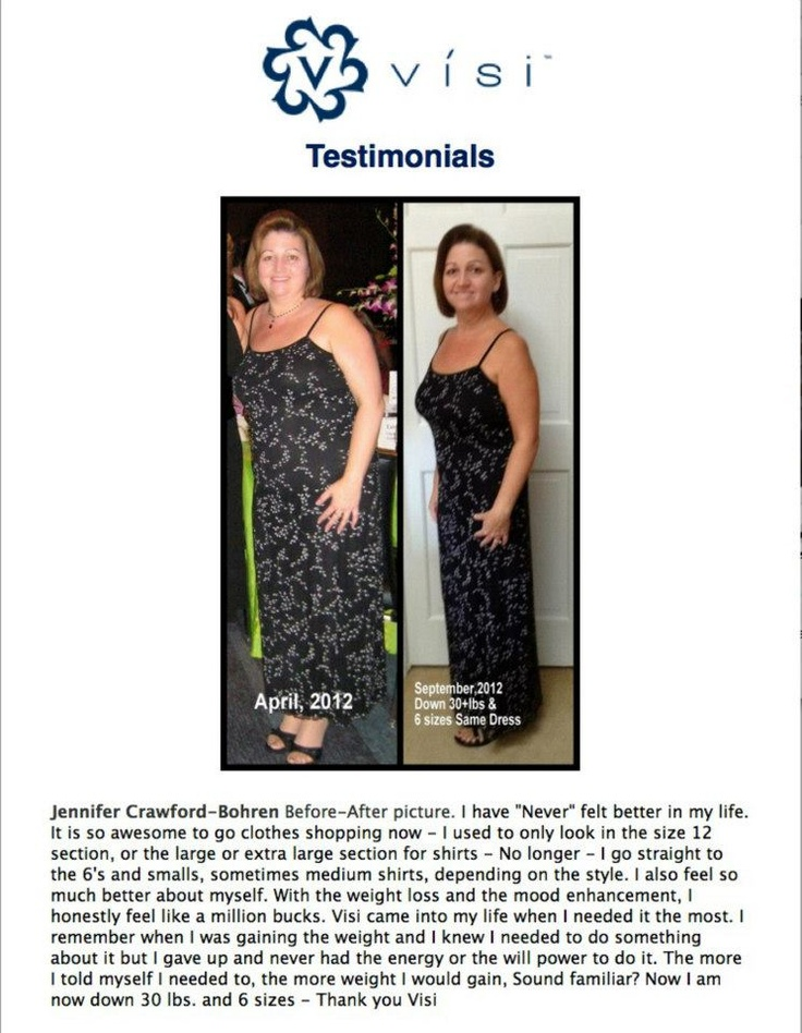 You can have weight loss success too with ViSi!