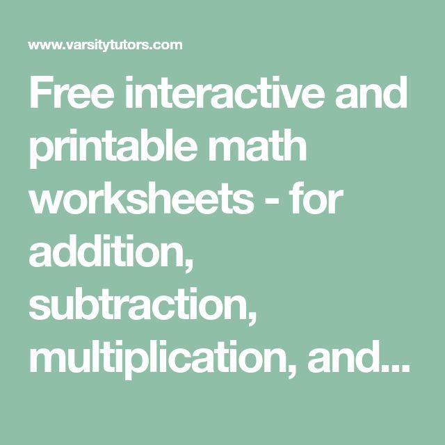 14 best maths images on Pinterest | Homeschool, Homeschooling and ...