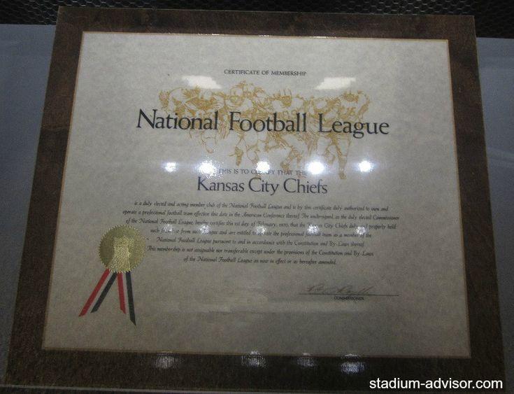 Kansas City Chiefs membership into the NFL http://www.stadium-advisor.com/kansas-city-chiefs-schedule.html