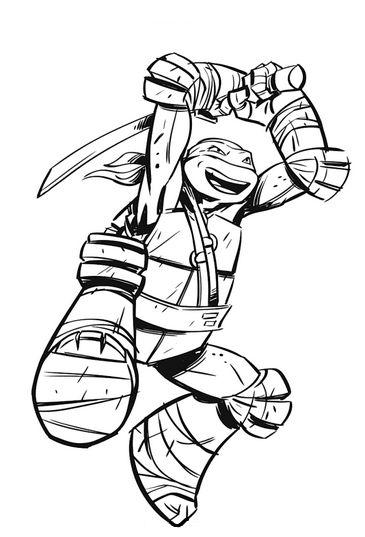 Handwriting Practice – Ninja Turtle Themed