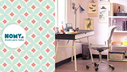 ¿Y si nos inspiramos en patrones #naturales? #Escritorio #Homy #Deco #Floral