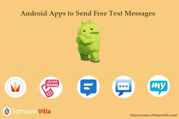 5 Best Android Apps to Send Free Text Messages  In this post, we've listed the 5 best Android apps to send free text messages. Here're the current rulers in the Android messaging market:
