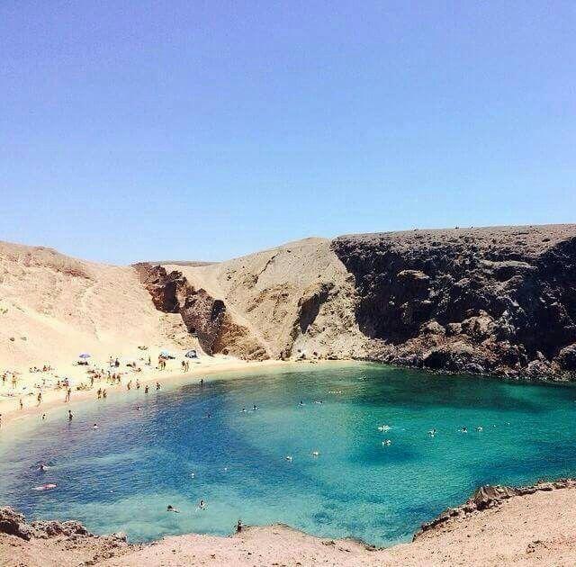 Playa Papagayo...Lanzarote