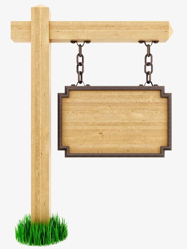 Wooden Signs, Wood, Billboard, Bulletin Board PNG Image