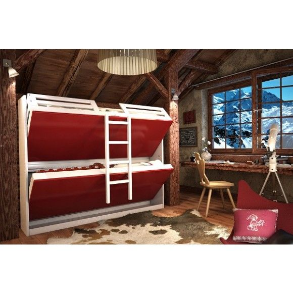 17 meilleures images propos de d co chambre enfant lit superpos sur pinterest peindre. Black Bedroom Furniture Sets. Home Design Ideas