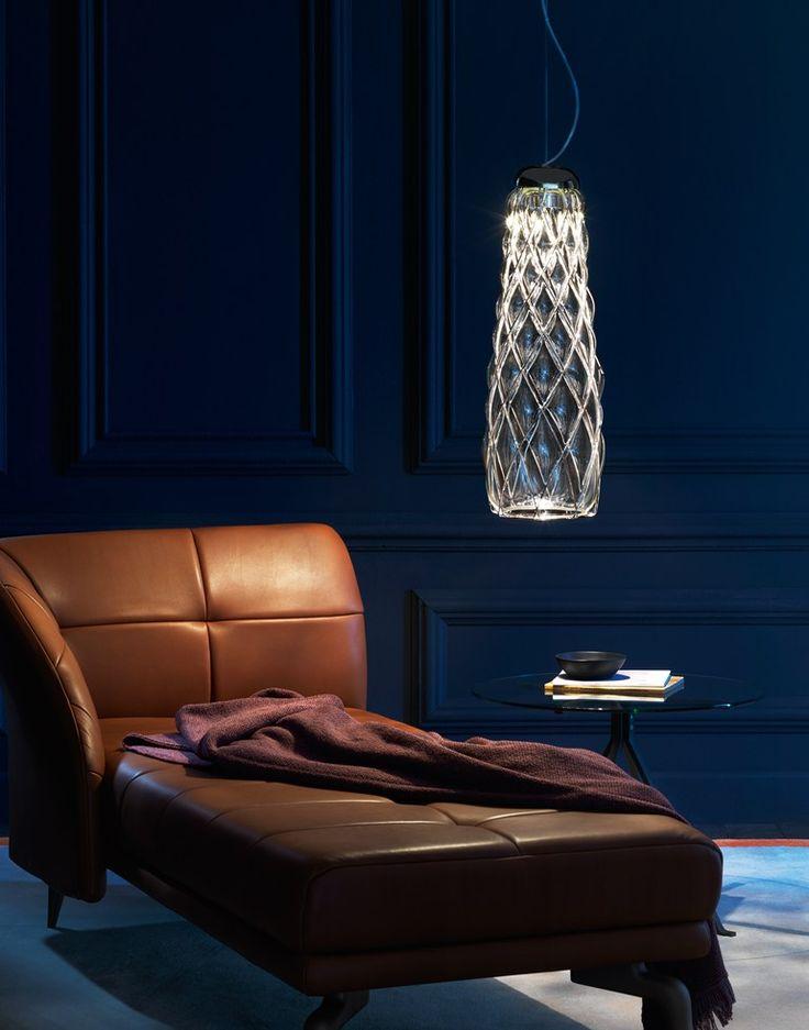 Blown glass pendant lamp PINECONE | Pendant lamp by FontanaArte