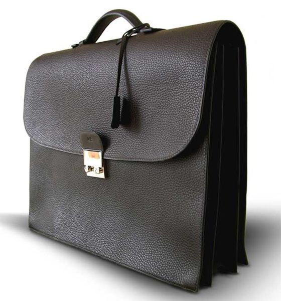 Men's briefcase by #Duret Paris -- I love this one.