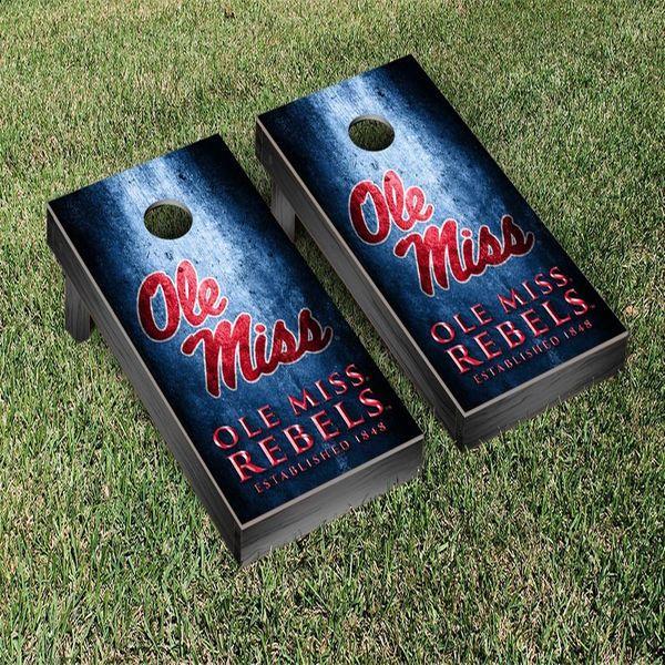 Ole Miss Rebels Museum Cornhole Game Set