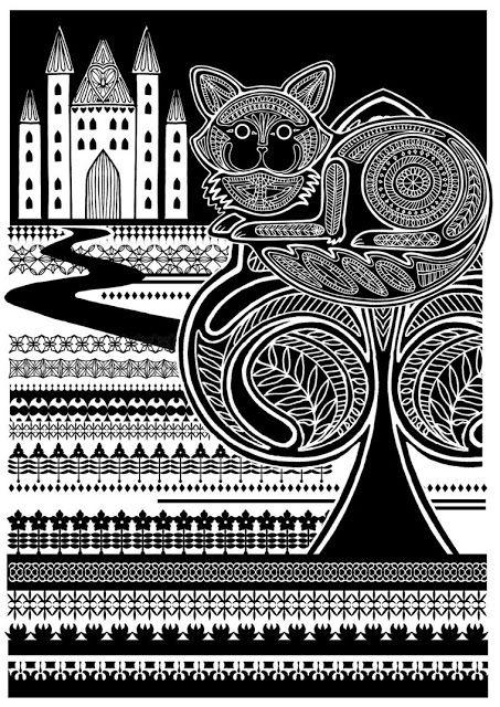 çizgili masallar: Alice's Adventures in Wonderland by Poonam Mistry,