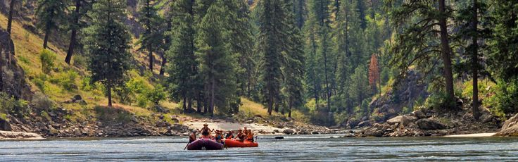 """A rafting trip down the Salmon River (aka """"The River of No Return"""") makes for a wonderful family vacation. It is best know for its big canyon, sandy beaches, and big water rapids. Most trips cover the 84 miles of wilderness in five or six days. Featured Outfitters Momentum River Expeditions (541) 488-2525 offers world-class rafting trips in Oregon, Northern California, and Idaho. This famous section of the Salmon River begins..."""
