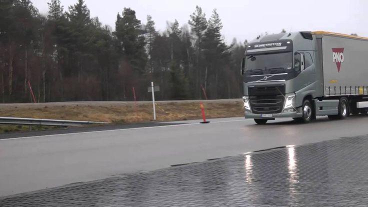 Volvo Trucks - Emergency braking at its best!, via YouTube.