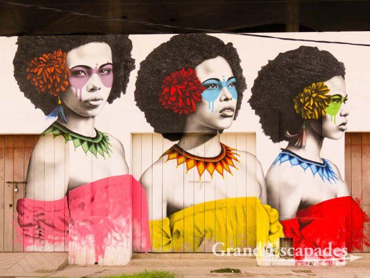 Street Art in Getsemani, Cartagena de Indias, Colombia