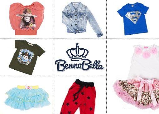 Hippe kleertjes voor je prinses vind je bij BennoBella!  En ook aan de binken is gedacht. Stoere joggingpakken, bedrukte shirts en hippe jeans, allemaal onmisbaar in de kledingkast.
