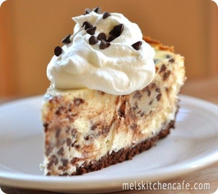 Cookie dough cheesecake!