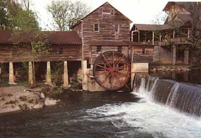 Old Grist Mill at Pigeon Forge, TN