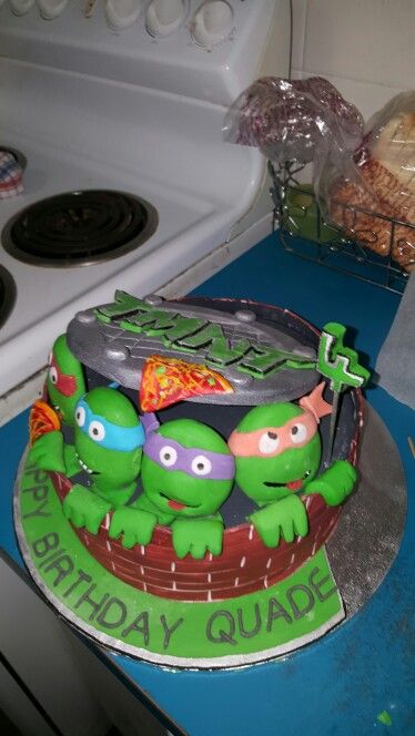 Quades Birthday Cake