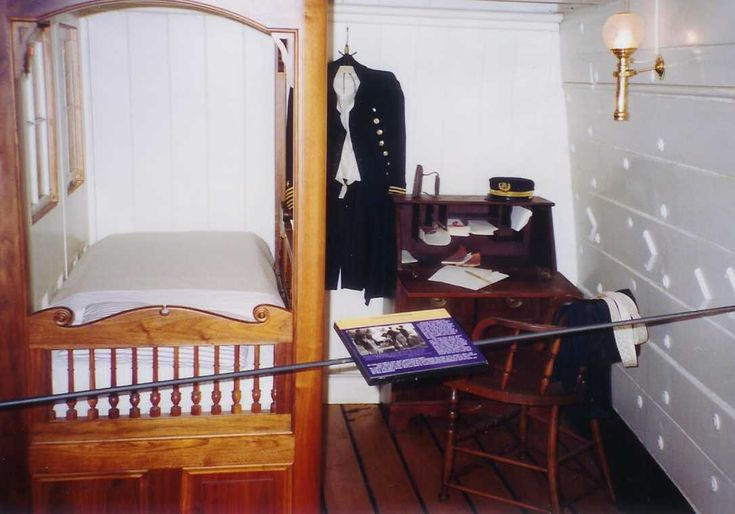 Captain's quarters on the HMS Victory...Hornblower would ...