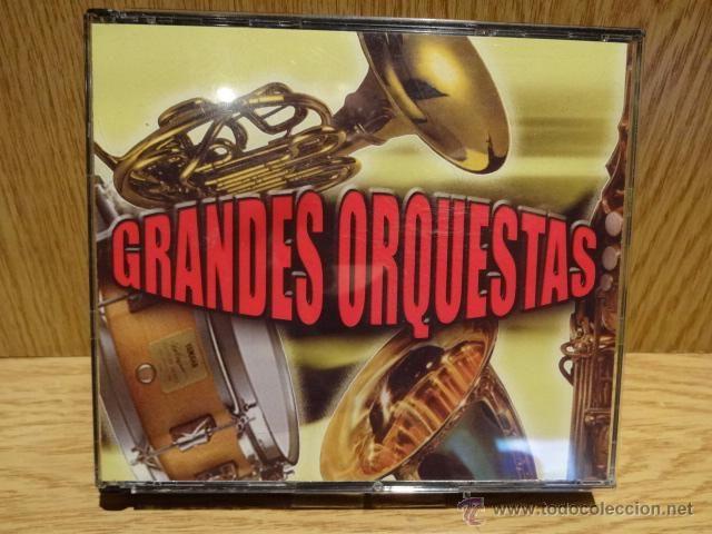 GRANDES ORQUESTAS. 5 CD-BOX / BETTER MUSIC - 105 TEMAS EN TOTAL / CALIDAD LUJO.