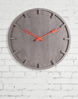 """MEMENTO design: Alessandro Zambelli Orologio a muro Wall clock Cemento; Concrete ø cm. 55 ≈ ø 21.7"""" ≈ http://www.seletti.it/objects/memento.php"""
