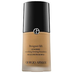 Giorgio Armani - Designer Lift Smoothing Firming Foundation SPF 20  in 3 #sephora. This color is too light for me so I will be returning it.