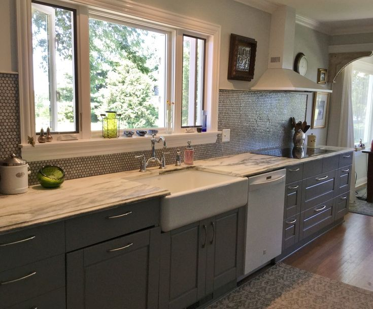 17 Best Ideas About Upper Cabinets On Pinterest Grey Cabinets Updated Kitchen And Kitchen
