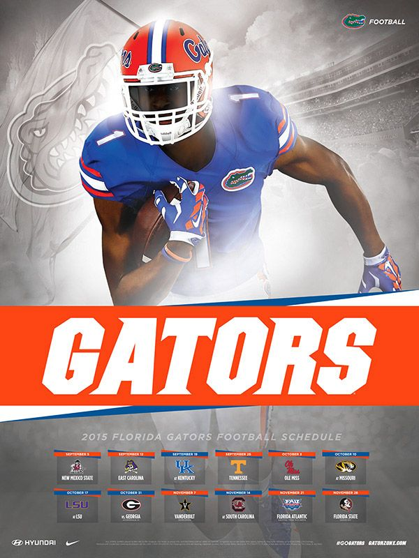 2015 Gator Football Schedule