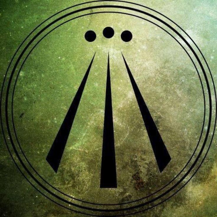 Burning Awen Photo Awen Druid Symbols Sacred