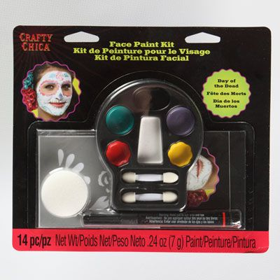 Dia de los Muertos Face Paint Tutorial
