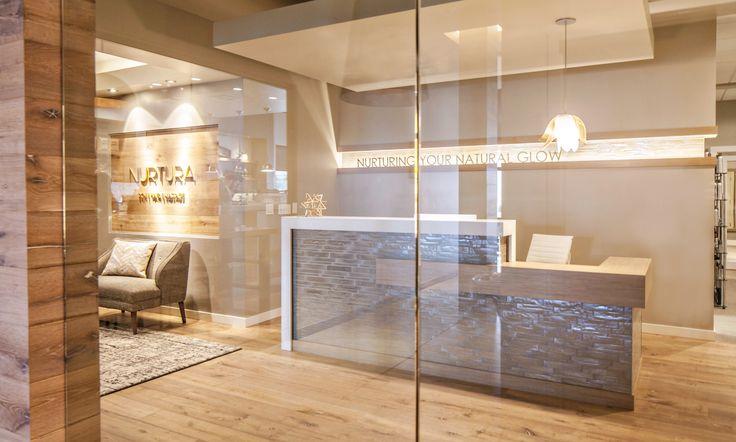 pernuladesign.com, greet desk design, reception desk, interior design, spa design, medical office design