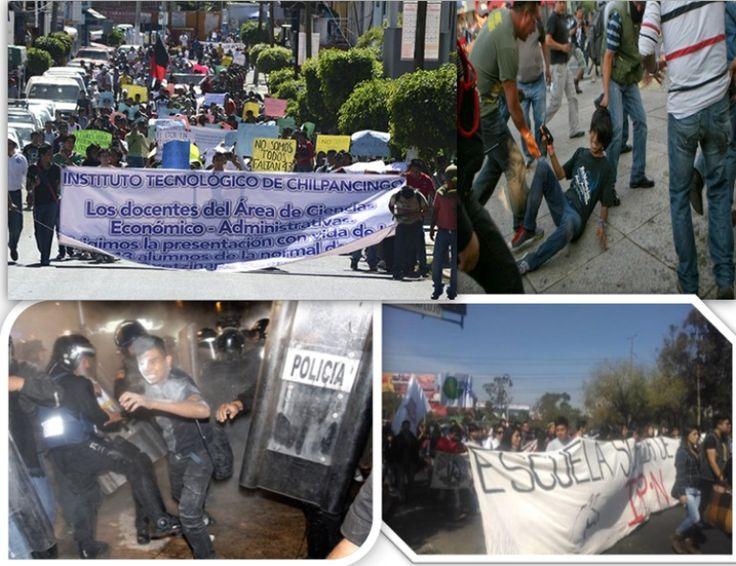Participan 80 encapuchados en marcha del Gobierno del Distrito Federal - http://notimundo.com.mx/mexico/participan-80-encapuchados-en-marcha-del-gobierno-del-distrito-federal/24480