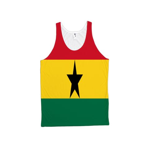 Ghana Flag TankTop - Unisex