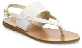 Ancient Greek Sandals Zoe Leather Thong Slingback Sandals