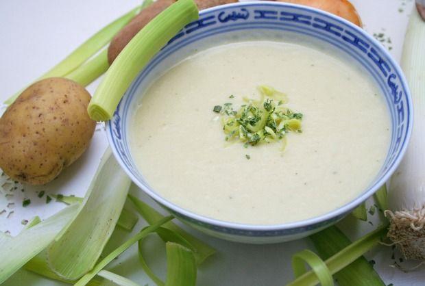 Creamy Potato Leek Soup | Recipe