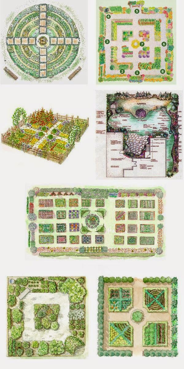 25 best Potager images on Pinterest Veggie gardens Potager
