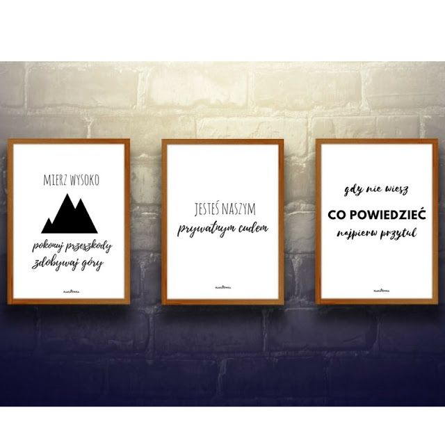 Darmowe Plakaty Z Napisami Plakaty Do Pobrania Plakat