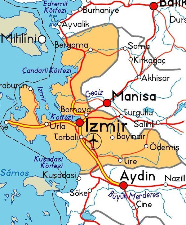 Izmir es Esmirna un de 7  iglesias q habla el Apocalipsis