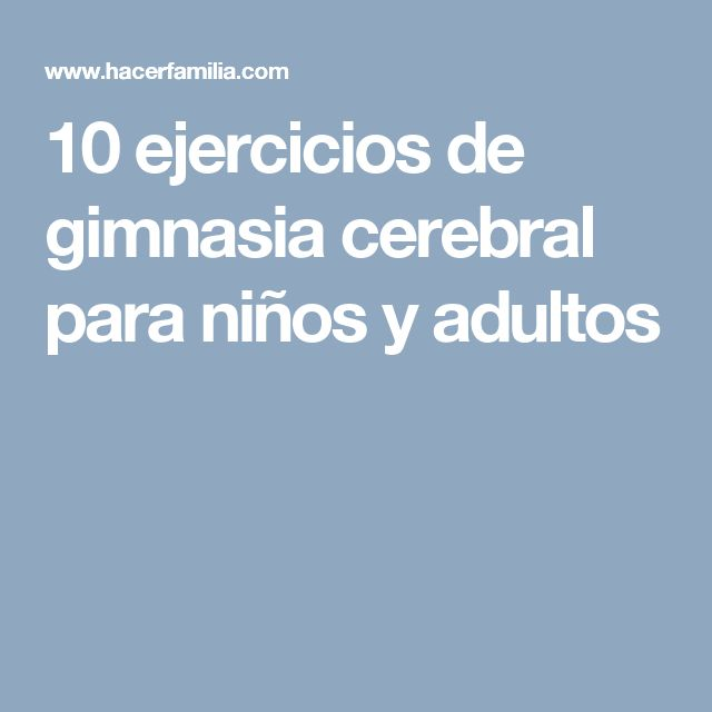 Die besten 25 gimnasia cerebral para ni os ideen auf for Ejercicios de gimnasia