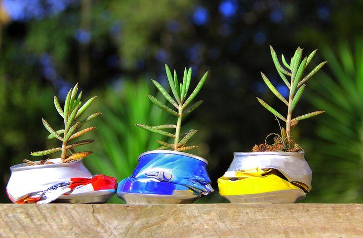 Riciclo creativo lattine di alluminio - Una raccolta di idee curiose e semplici da realizzare per riciclare, in modo creativo, le lattine di alluminio vuote.