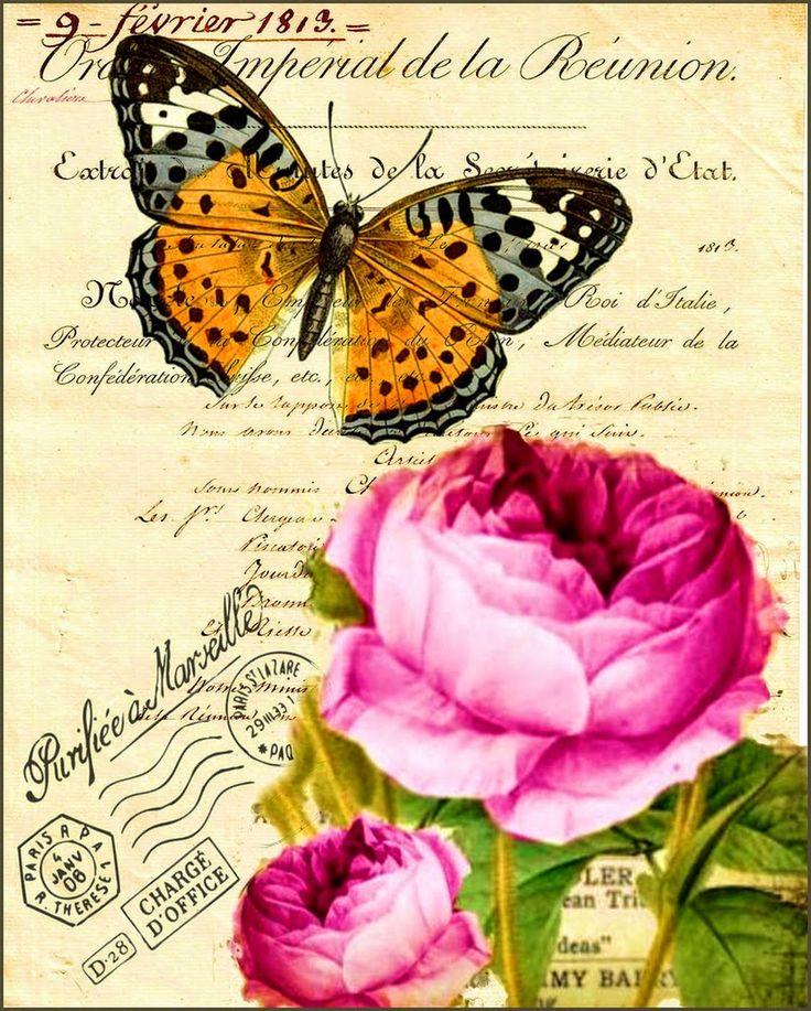 Passion-Antique Prints Antique, Vintage, Retro ... and various crafts: Very Vintage ...