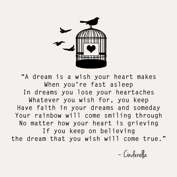 Image result for cinderella dreams come true quote
