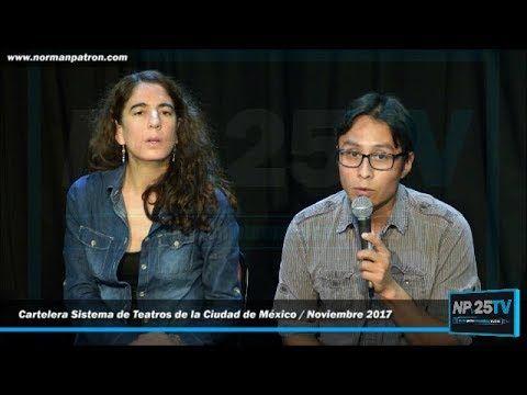 Cartelera Sistema de Teatros CDMX Noviembre 2017 Buratino Tenorio El Moc...