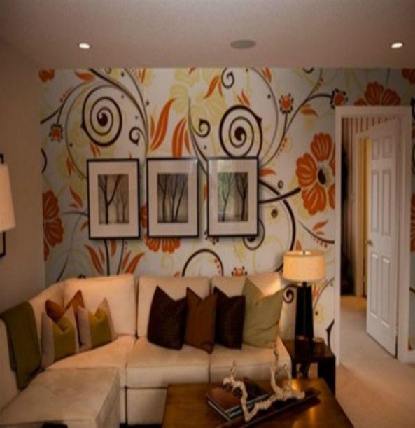 InkShuffle Floral wall murals