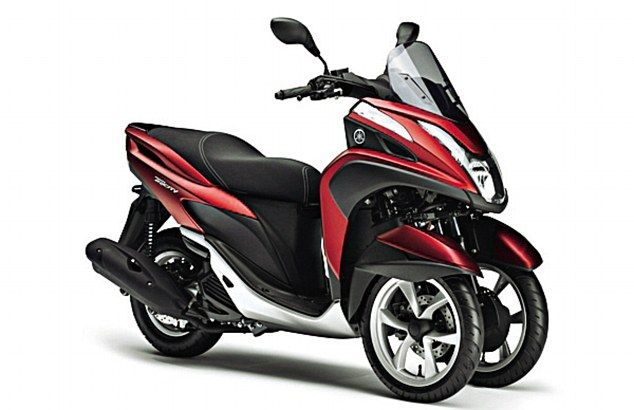 Yamaha's 125cc Tricity's front wheels are somewhat close together it is considered more bike than car so you'll need to stick on L-plates and apply for a learner motorcycle licence to ride one