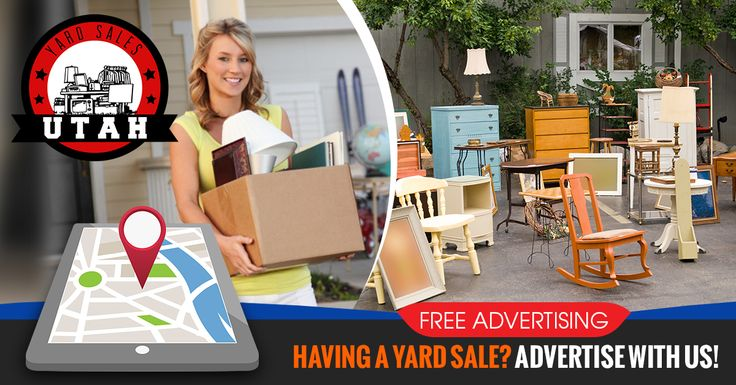 If you love yard sales and you live in Utah, you need to know about www.utahyardsales.net and our upcoming Yard Sale Finder App!   There has never been an easier way to promote or find yard sales.