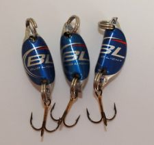 Bud Light Beer Bottle Cap Fishing Lures (3 count)