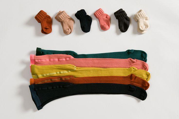 Caramel Baby & Child's AW14 baby socks and rib tights
